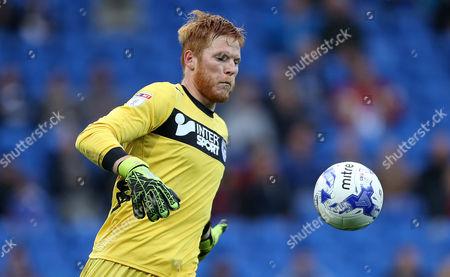 Adam Bogdan of Wigan Athletic.