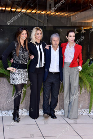 Carlo Vanzina, Stefania Rocca, Manuela Arcuri Ria Antoniou