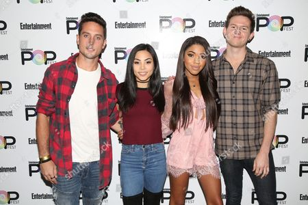 Stock Photo of Sawyer Hartman, Anna Akana, Teala Dunn, Ricky Dillon