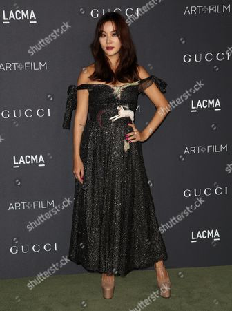Editorial picture of LACMA Art and Film Gala, Arrivals, Los Angeles, USA - 29 Oct 2016