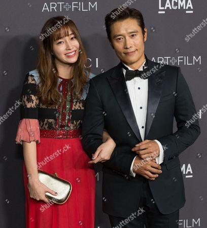 Byung-hun Lee, Lee Min-jung
