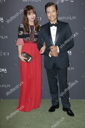 Byung-hun Lee and Lee Min-jung