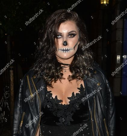 Editorial picture of Halloween Party at Madison Bars, London, UK - 29 Oct 2016