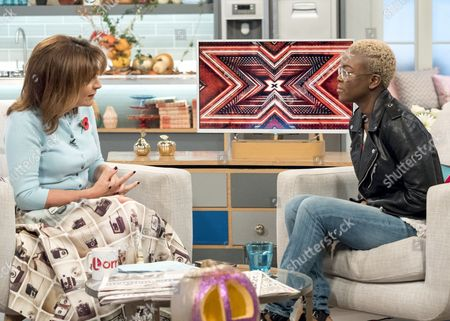 Lorraine Kelly and Gifty Louise