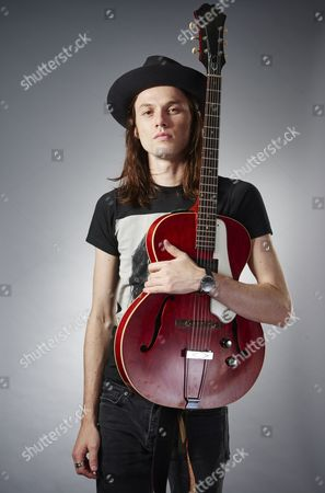 Swindon United Kingdom - October 9: Portrait Of English Indie Rock Musician James Bay Photographed Before A Live Performance At Oasis Leisure Centre In Swindon On October 9
