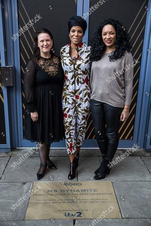 Karen Napier (Chief Executive of Wac Arts), Niomi McLean-Daley, AKA Ms Dynamite and Kanya King (Chief Executive of MOBO)