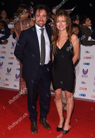 Stock Picture of Richard Hammond and wife Amanda Etheridge