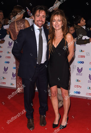 Stock Image of Richard Hammond and wife Amanda Etheridge