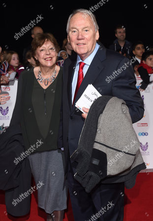 Peter Sissons and wife