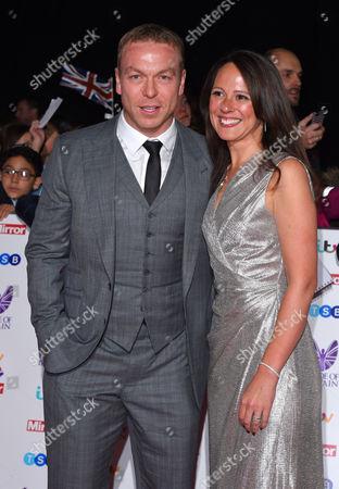 Chris Hoy and Sarra Kemp