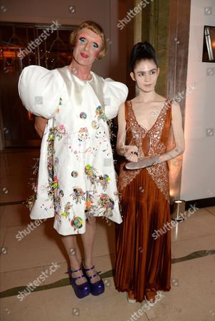 Grayson Perry and Grimes