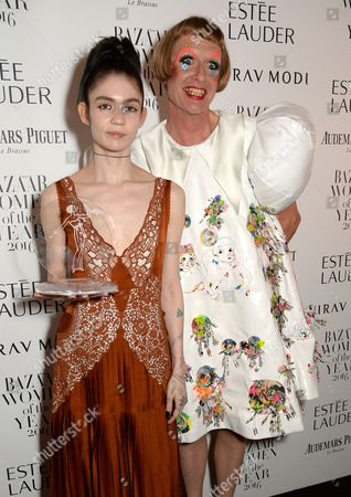 Grimes and Grayson Perry