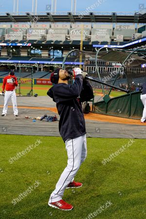 Editorial image of World Series Cubs Indians Baseball, Cleveland, USA - 31 Oct 2016