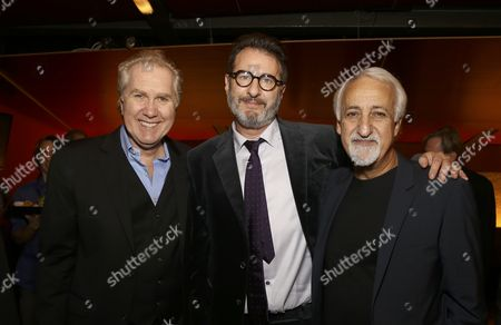 Harry Groener, Jon Robin Baitz and Brian George