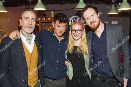 Joe McGann (Old Man), Adam Rothenberg (Eddie), Lydia Wilson (May) and Luke Neal (Martin)