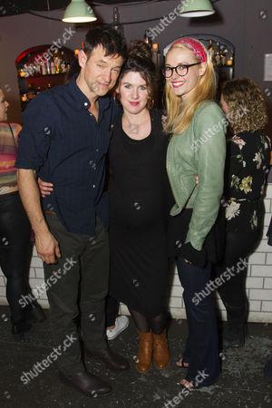 Adam Rothenberg (Eddie,) Emily Dobbs (Producer) and Lydia Wilson (May)
