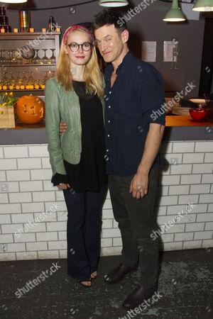 Lydia Wilson (May) and Adam Rothenberg (Eddie)