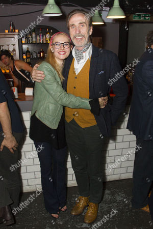 Lydia Wilson (May) and Joe McGann (Old Man)