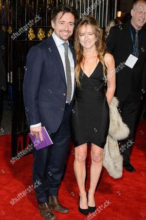 Stock Image of Richard Hammond and Amanda Etheridge