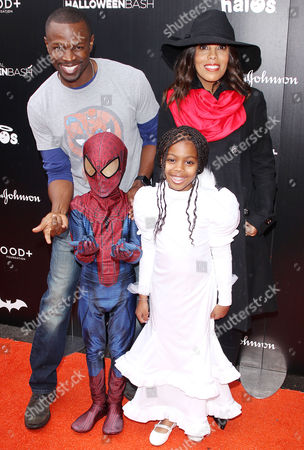Sean Patrick Thomas, Aonika Laurent, Luc Laurent Thomas, Lola Jolie Thomas