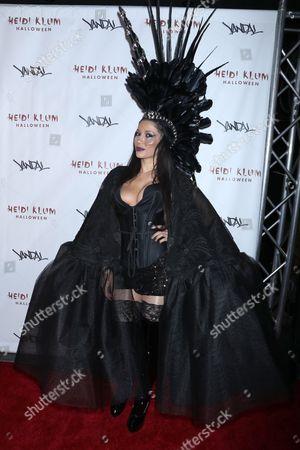 Editorial image of Heidi Klum Halloween Party, New York, USA - 31 Oct 2016