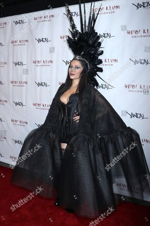 Editorial picture of Heidi Klum Halloween Party, New York, USA - 31 Oct 2016