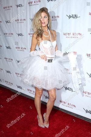 Editorial photo of Heidi Klum Halloween Party, New York, USA - 31 Oct 2016