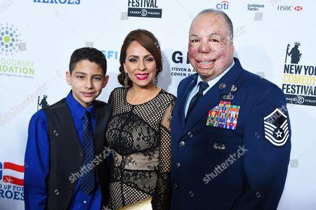 Sgt Israel Del Toro Jr, Carmen Del Toro, Sgt Israel Del Toro Jr