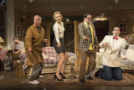 Katherine Parkinson as Eleanor, Steve Pemberton as Brian, Emily Berrington as Lisa, Rufus Jones as Richard, Ralf Little as Nick