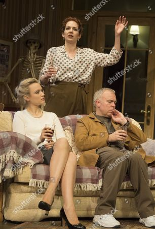 Katherine Parkinson as Eleanor,  Emily Berrington as Lisa,Steve Pemberton as Brian,