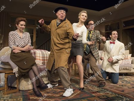 Katherine Parkinson as Eleanor, Steve Pemberton as Brian, Emily Berrington as Lisa,Rufus Jones as Richard; Ralf Little as Nick