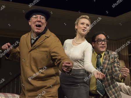 Steve Pemberton as Brian,  Emily Berrington as Lisa; Rufus Jones as Richard;