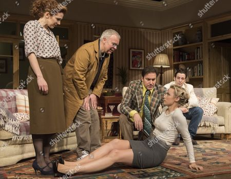 Katherine Parkinson as Eleanor, Steve Pemberton as Brian, , Rufus Jones as Richard; Emily Berrington as Lisa; Ralf Little as Nick,
