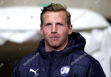 Stock Photo of PFA Chairman Ritchie Humphreys of Chesterfield