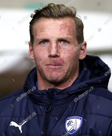 Stock Picture of PFA Chairman Ritchie Humphreys of Chesterfield