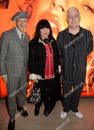 Stephen Jones, Anna Sui and Tim Blanks