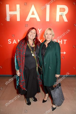 Lynne Franks with Carol Hayes