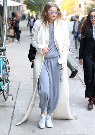 Editorial image of Gigi Hadid out and about, New York, USA - 01 Nov 2016
