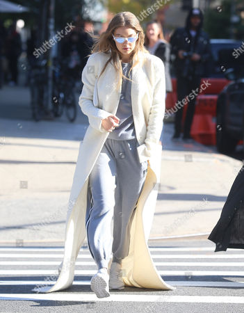 Editorial photo of Gigi Hadid out and about, New York, USA - 01 Nov 2016