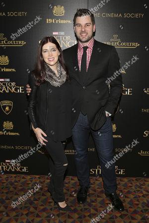 Editorial picture of 'Doctor Strange' film premiere, New York, USA - 01 Nov 2016