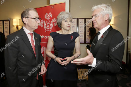 Philip May, Theresa May and Phillip Schofield