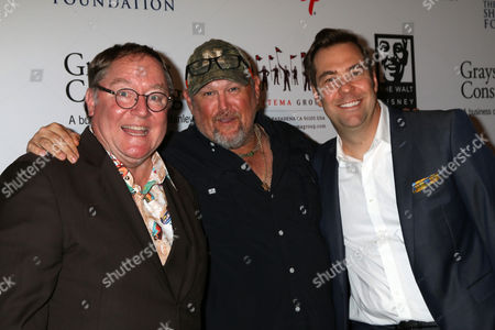 John Lasseter, Larry the Cable Guy, Brian Fee