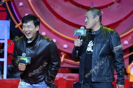 Jackie Chan and Wang Kai