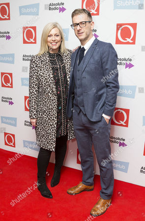 Stock Photo of Claire Sturgess and Andy Bush from Absolute Radio