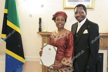 Editorial photo of Tanzanian High Commissioner, Her Excellency Dr. Asha-Rose Migiro, Presentation of Credentials, London, UK - 20 Oct 2016