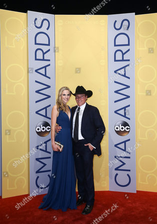 Stock Image of Jessica Craig and Clay Walker
