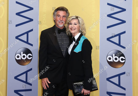 John Easterling and Olivia Newton-John