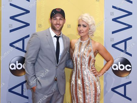 Stock Picture of Juan Pablo Galavis and Meghan Linsey