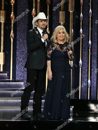 Brad Paisley and Barbara Mandrell