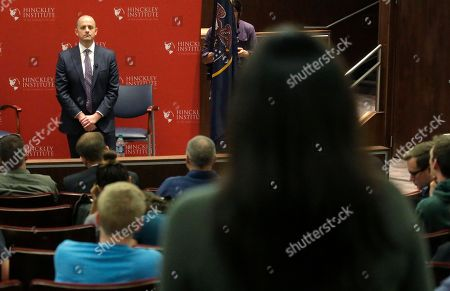 Evan McMullin Independent presidential candidate Evan McMullin speaks during a University of Utah candidate forum, in Salt Lake City. McMullin answered questions at the forum, as he attempts to fend off a new wave of critiques from Republican Donald Trump's supporters who are trying to prevent McMullin from winning what has become a toss-up state
